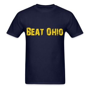 Beat Ohio - Blue - Men's T-Shirt