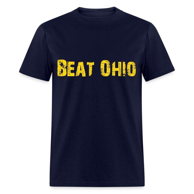 Beat Ohio - Blue - Men's T-Shirt