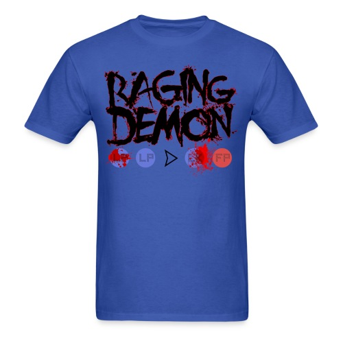 Raging Demon - Men's T-Shirt