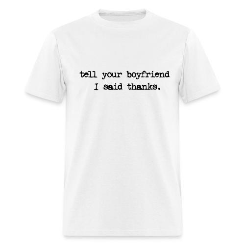 Thanks - Men's T-Shirt
