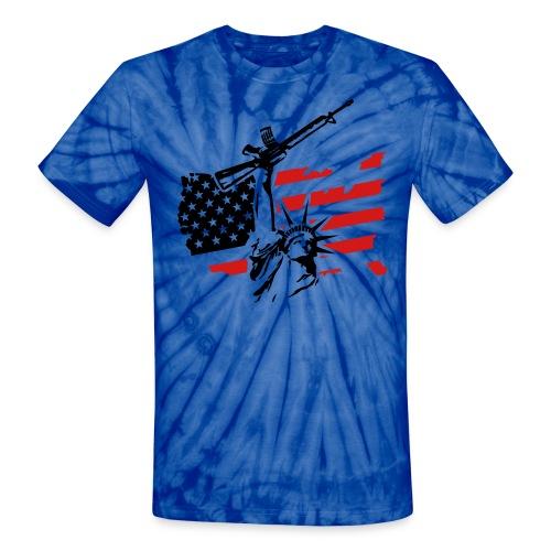 Battlefield America - Unisex Tie Dye T-Shirt