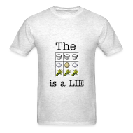 T-Shirts ~ Men's T-Shirt ~ The Cake is a Lie