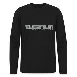 Tytanium Recordings 2-color Logo Tee (Selectable Colors) - Men's Long Sleeve T-Shirt by Next Level