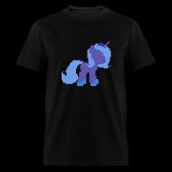 T-Shirts ~ Men's T-Shirt ~ Luna pixel plain