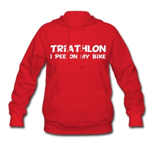 Triathlon I Pee On My Bike Women's Hoodie - Women's Hoodie
