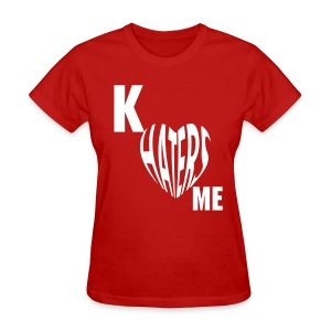 Kappa Sweet: Haters Love Me - Women's T-Shirt