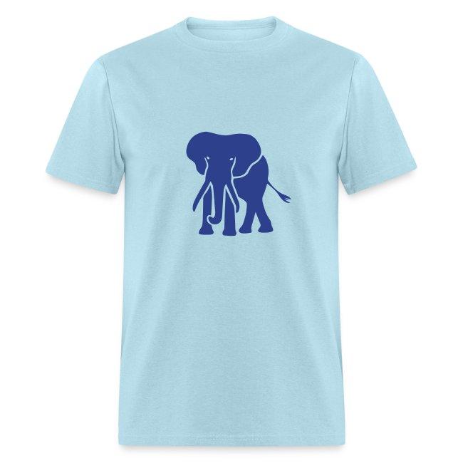t-shirt elephant trunk ivory afrika serengeti