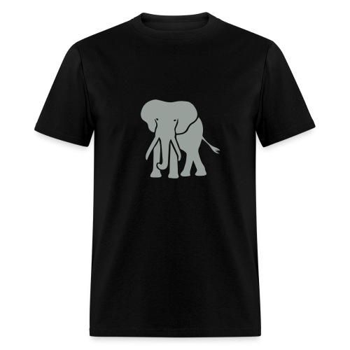 t-shirt elephant trunk ivory afrika serengeti - Men's T-Shirt