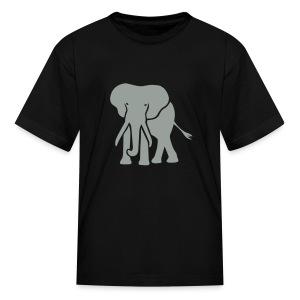t-shirt elephant trunk ivory afrika serengeti - Kids' T-Shirt