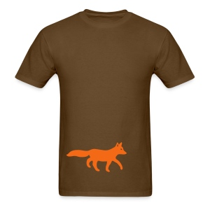 t-shirt fox foxy tod readhead game hunter hunting - Men's T-Shirt