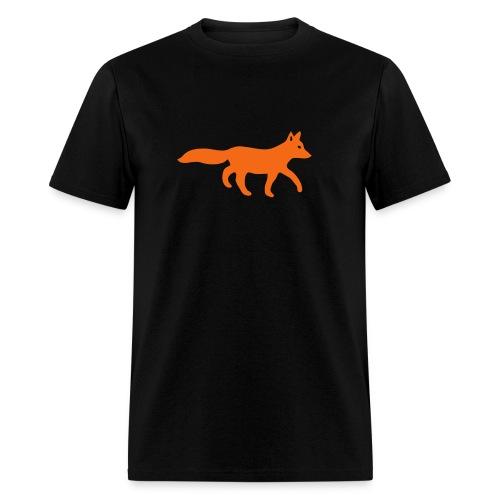 t-shirt fox foxy tod readhead game hunter hunting - Men's T-Shirt