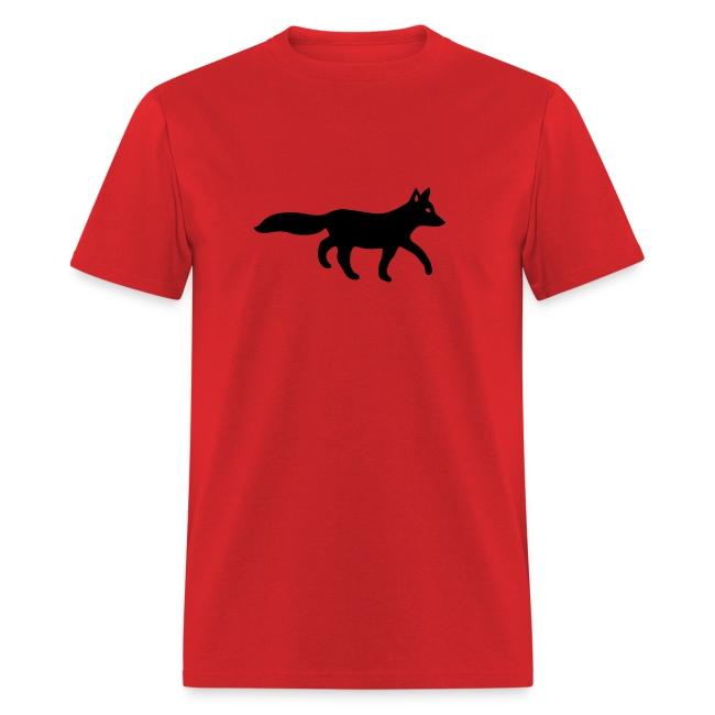 t-shirt fox foxy tod readhead game hunter hunting
