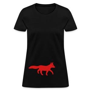 t-shirt fox foxy tod readhead game hunter hunting - Women's T-Shirt