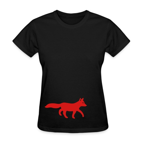 t-shirt fox foxy tod readhead game hunter hunting - Women's T-Shirt