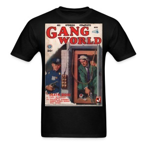 Gang World Pulp Cover - Men's T-Shirt