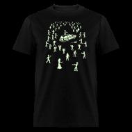 T-Shirts ~ Men's T-Shirt ~ Glow in the Fucking Dark Organ Trail Shirt