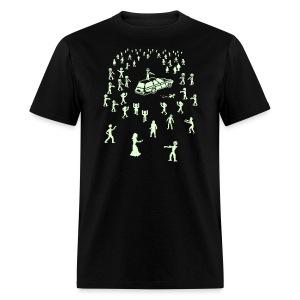 Glow in the Fucking Dark Organ Trail Shirt - Men's T-Shirt