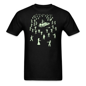 Glow in the Fucking Dark Organ Trail Shirt - Men's T-Shirt