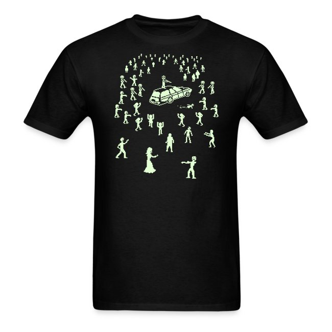 Glow in the Fucking Dark Organ Trail Shirt