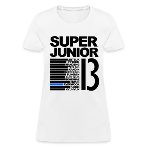 Super Junior BIAS Ryeowook - Women's T-Shirt