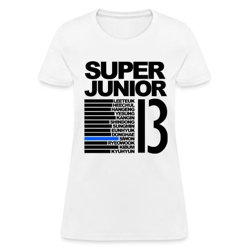 Super Junior BIAS Siwon - Women's T-Shirt