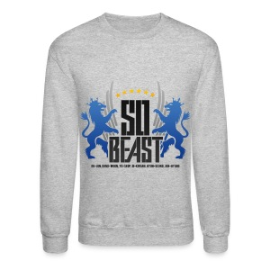 BEAST - SO BEAST (Color/Blue) - Crewneck Sweatshirt
