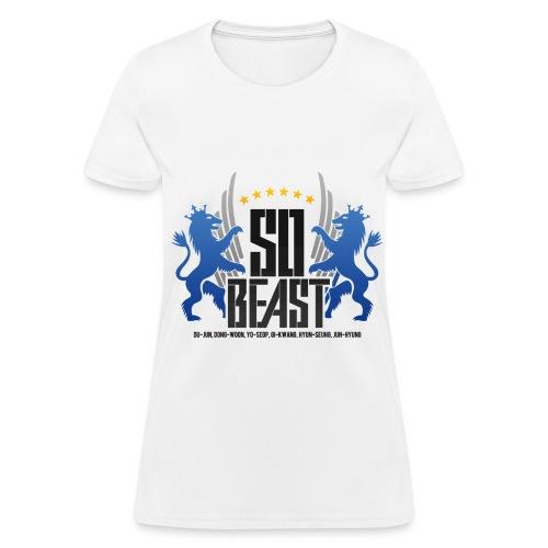 BEAST - SO BEAST (Color/Blue) - Women's T-Shirt
