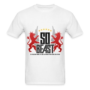 BEAST - SO BEAST (Color/Red) - Men's T-Shirt