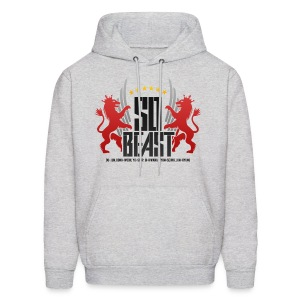BEAST - SO BEAST (Color/Red) - Men's Hoodie