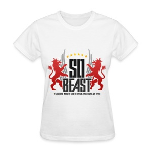 BEAST - SO BEAST (Color/Red) - Women's T-Shirt