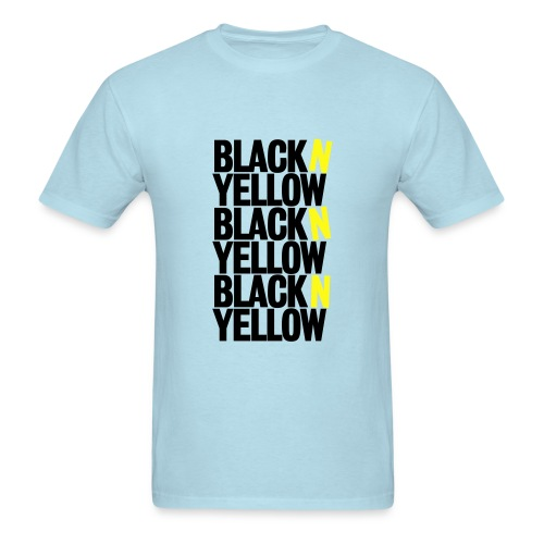 Black N' Yellow - Men's T-Shirt