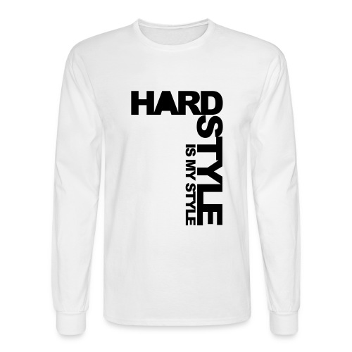 Hard Style - Men's Long Sleeve T-Shirt