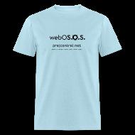 T-Shirts ~ Men's T-Shirt ~ webOS.O.S  Men's Standard T-Shirt