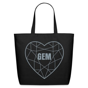 Groove Gem Gemstone LG Tote Bag - Eco-Friendly Cotton Tote