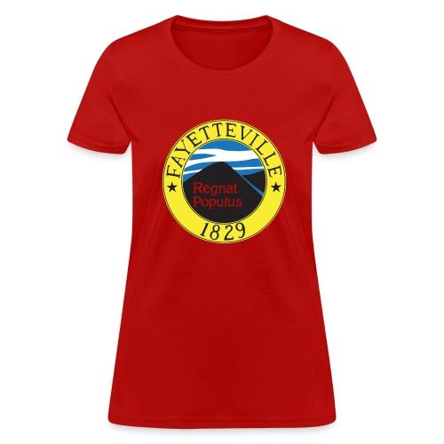 Fayetteville Flag - Womens Tee - Women's T-Shirt