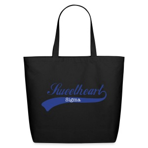 Sigma Sweetheart Script Tote - Eco-Friendly Cotton Tote