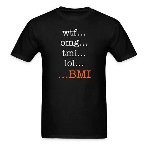...BMI t - Men's T-Shirt