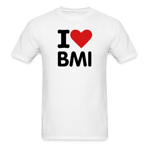 I Heart BMI t - Men's T-Shirt