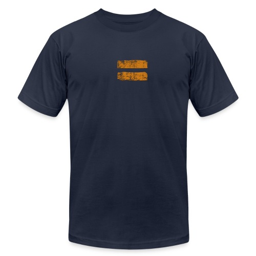 Strong Enough to be Equal - Navy - Men's Fine Jersey T-Shirt
