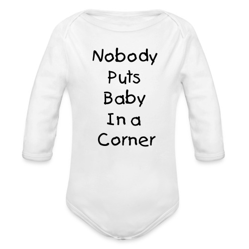 You smell like Billy - Organic Long Sleeve Baby Bodysuit