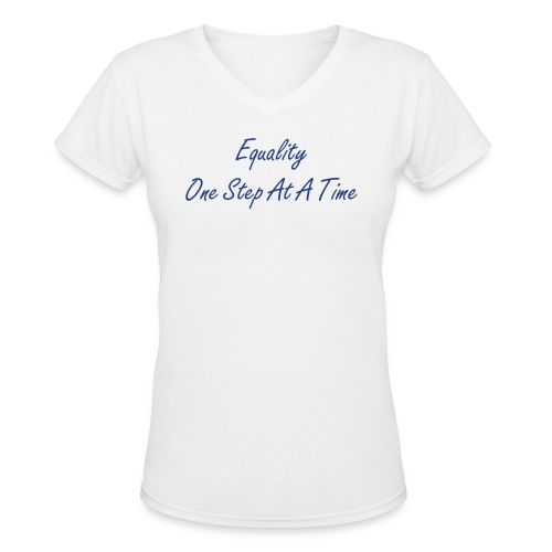 Womens Equality 1 - Women's V-Neck T-Shirt