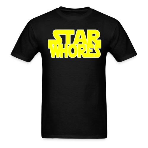 Star Whores! - Men's T-Shirt