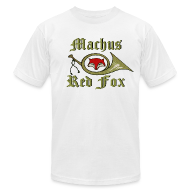T-Shirts ~ Men's T-Shirt by American Apparel ~ Machus Red Fox
