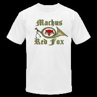 T-Shirts ~ Men's T-Shirt by American Apparel ~ Machus Red Fox