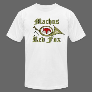 Machus Red Fox - Men's T-Shirt by American Apparel