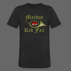 Machus Red Fox - Unisex Tri-Blend T-Shirt by American Apparel