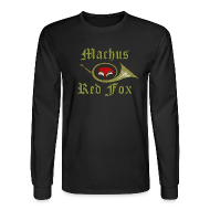 Long Sleeve Shirts ~ Men's Long Sleeve T-Shirt ~ Machus Red Fox