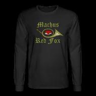 Long Sleeve Shirts ~ Men's Long Sleeve T-Shirt ~ Machus Red Fox