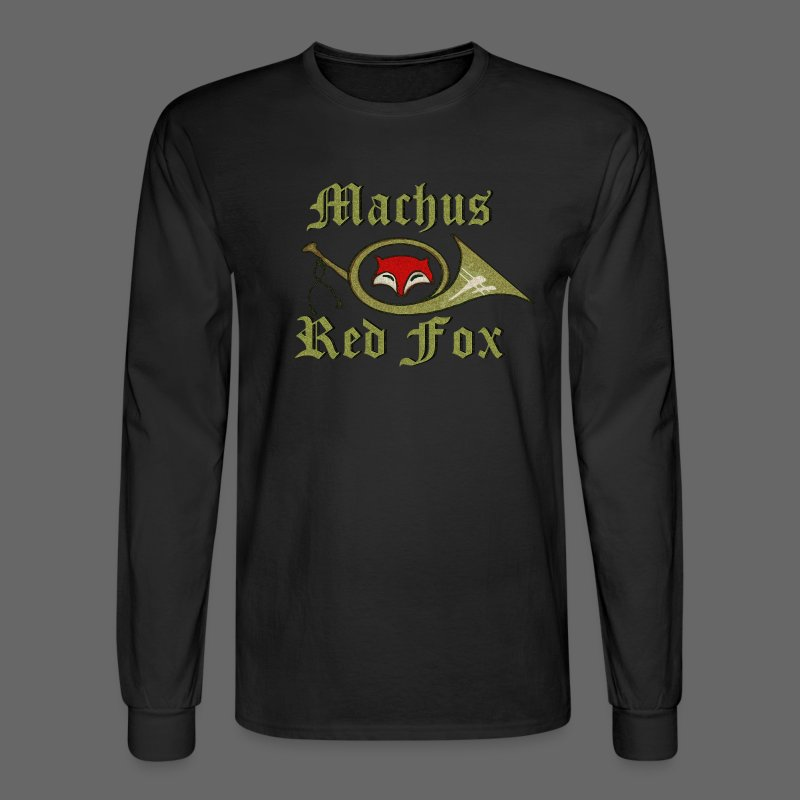 Machus Red Fox - Men's Long Sleeve T-Shirt