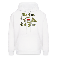 Hoodies ~ Men's Hoodie ~ Machus Red Fox